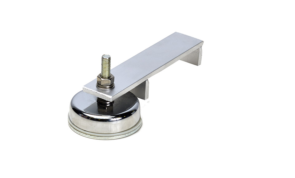 Magnet holder for inductors, single