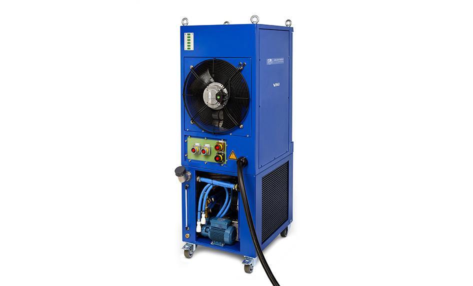 Induction heat treatment unit VAI