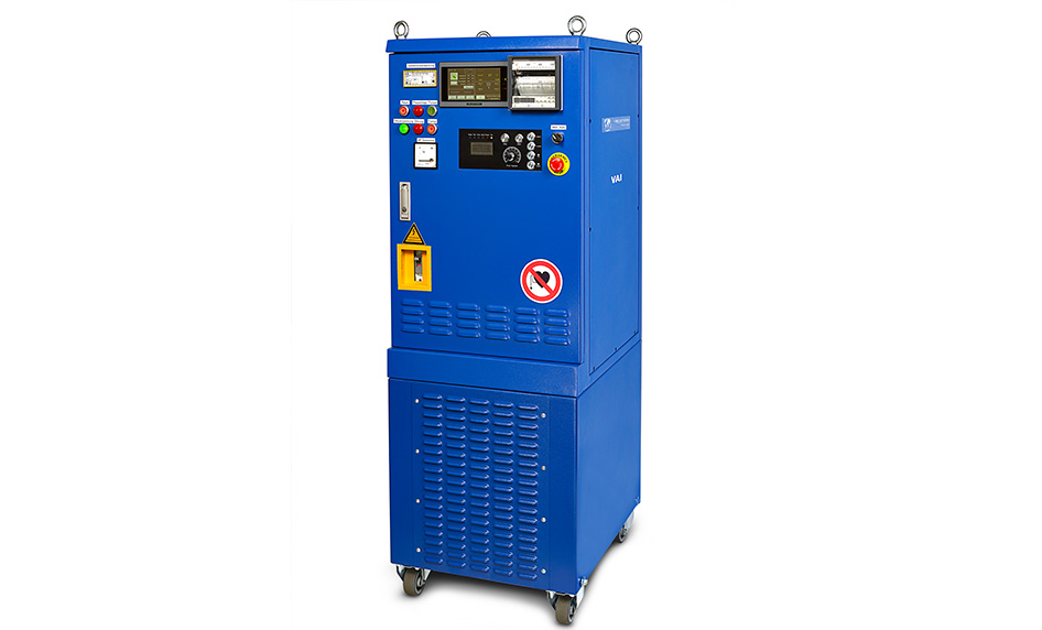Induction heat treatment unit VAI
