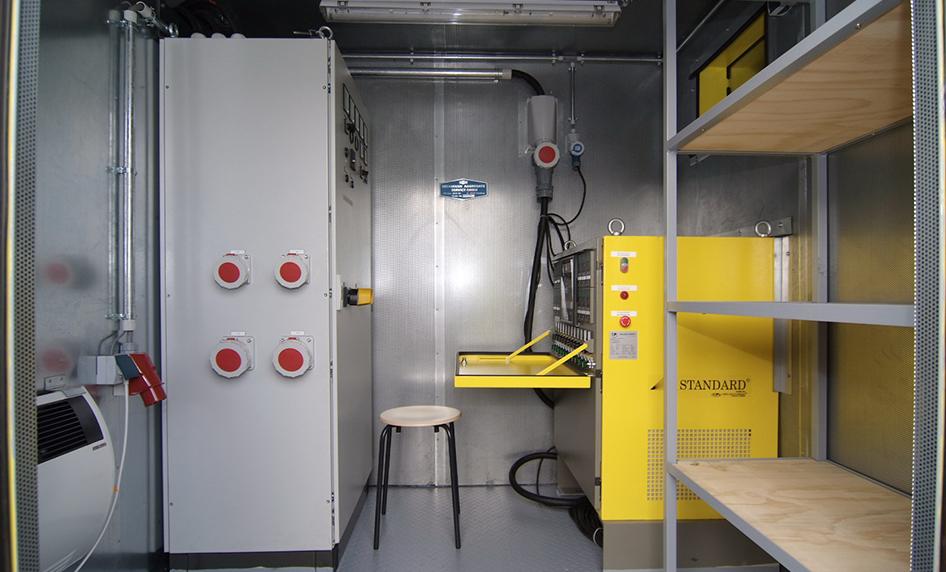 Special heat treatment units