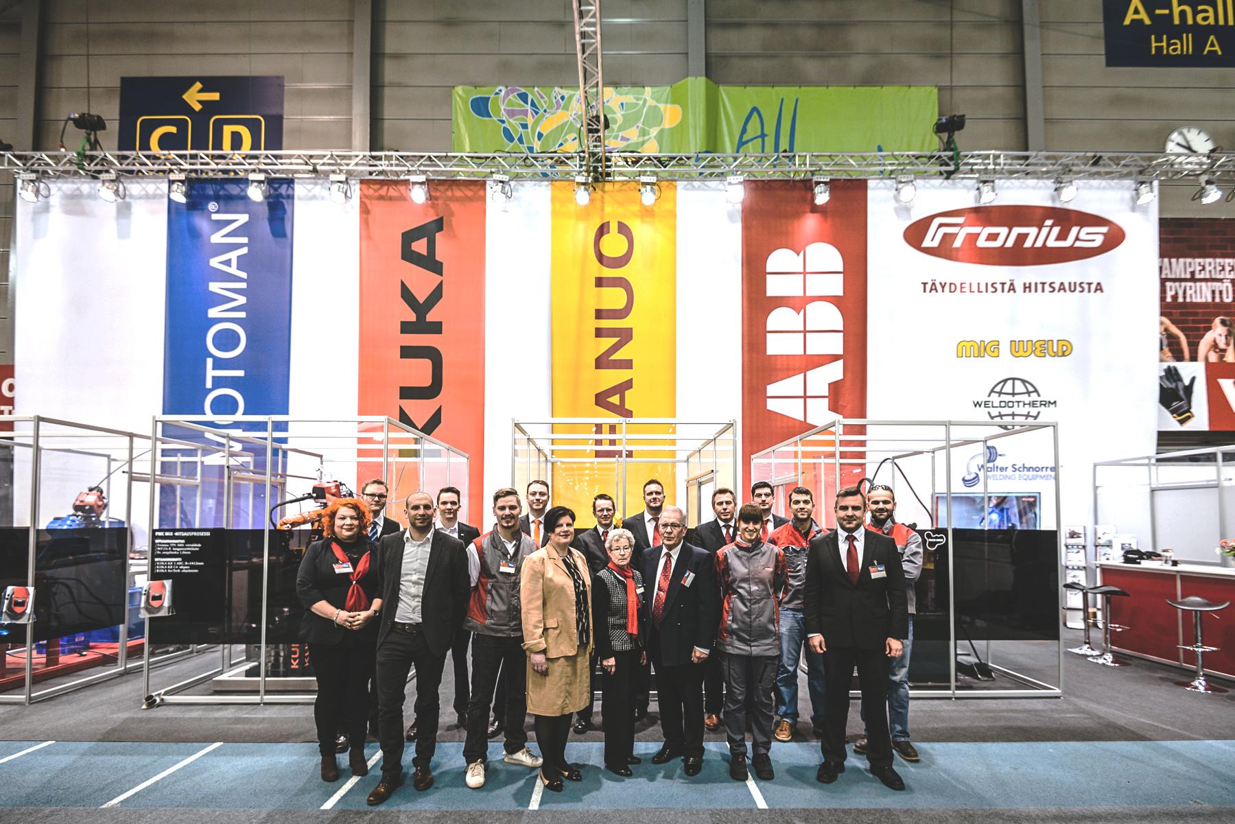 Gemeinschaftsstand von Teilnahme an der Nordic Welding